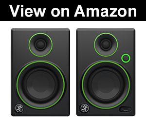 mackie cr cr3 top small studio speakers