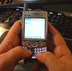 Blackberry Thumb