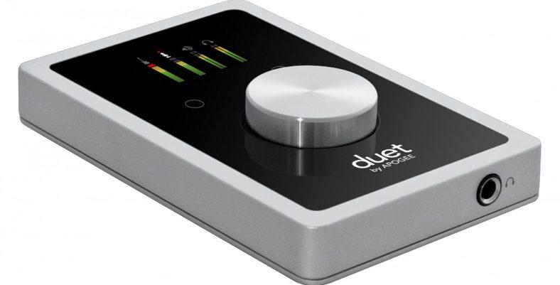 apogee Duet2 audio interface