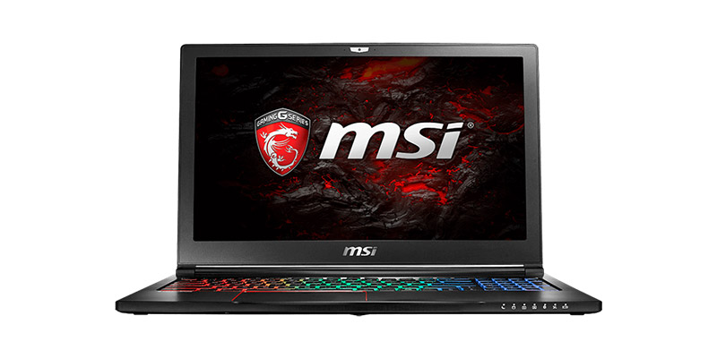 MSI GS63VR Laptop
